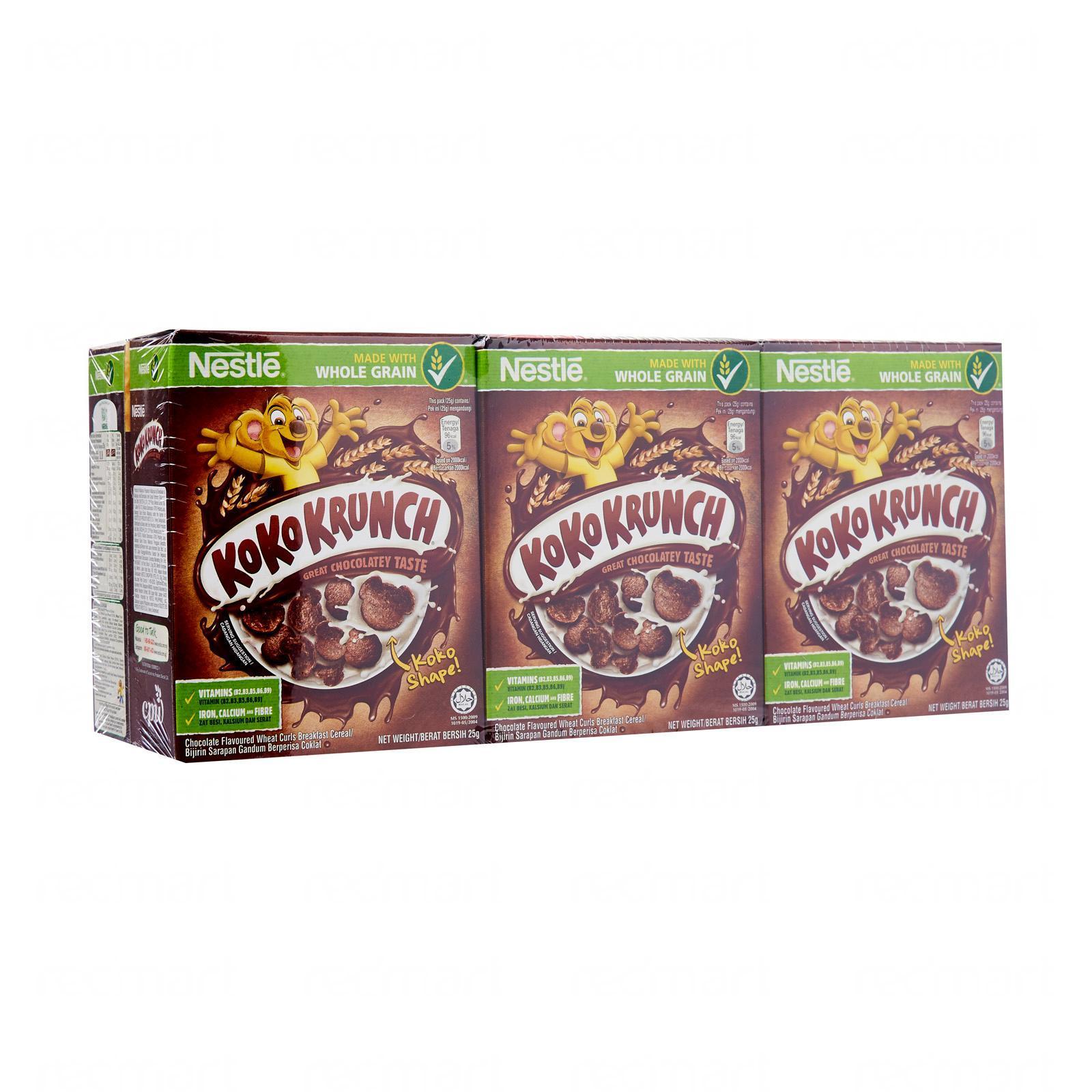 Nestle Koko Krunch Cereal Multipack By Redmart.
