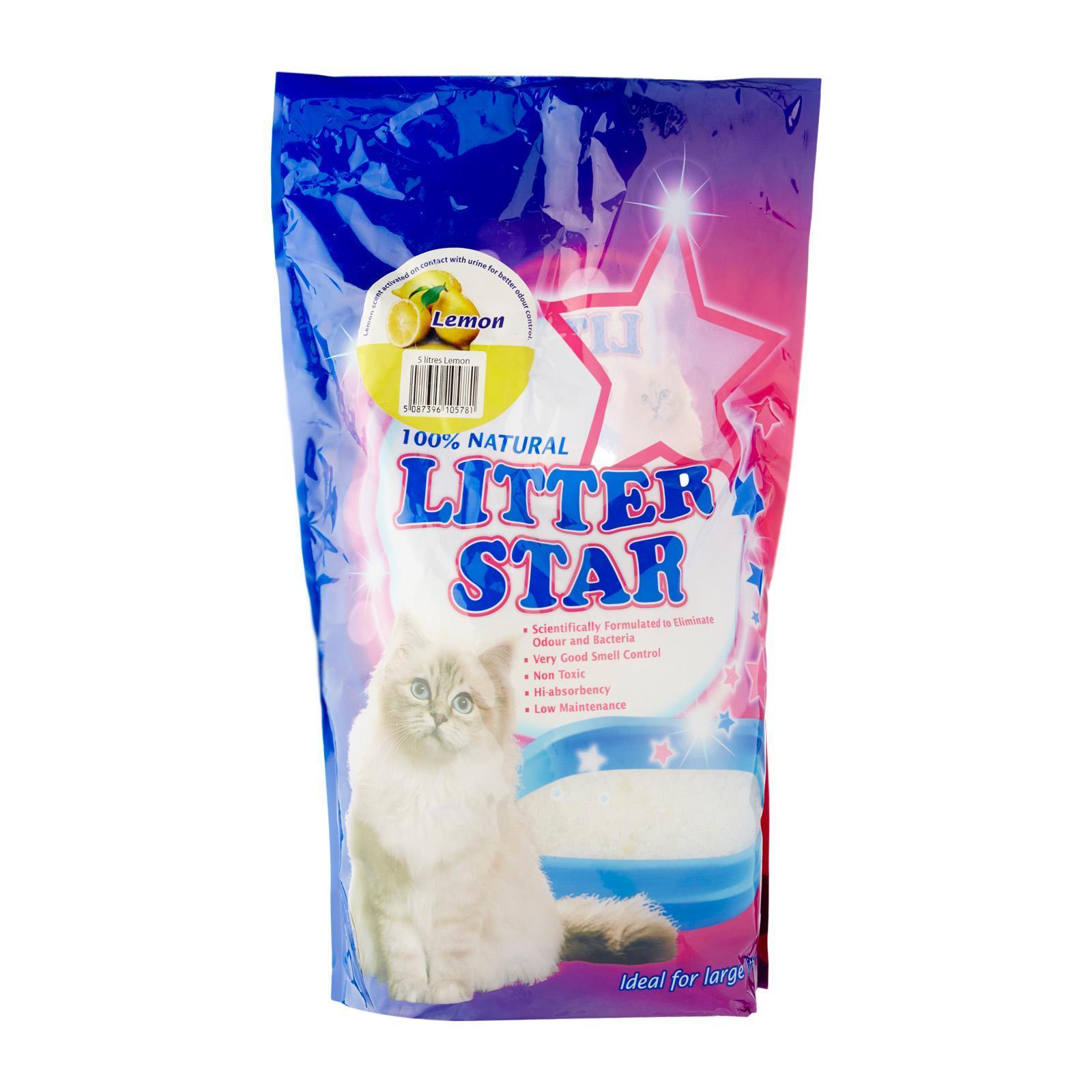 LITTER STAR Lemon Crystal Cat Litter