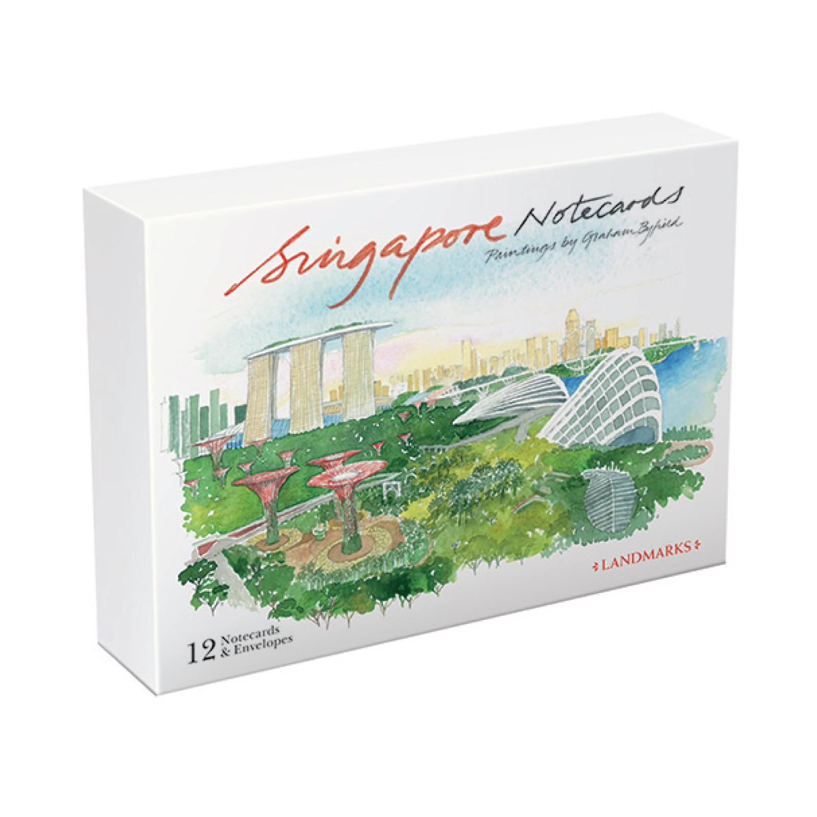SINGAPORE NOTECARDS : LANDMARKS