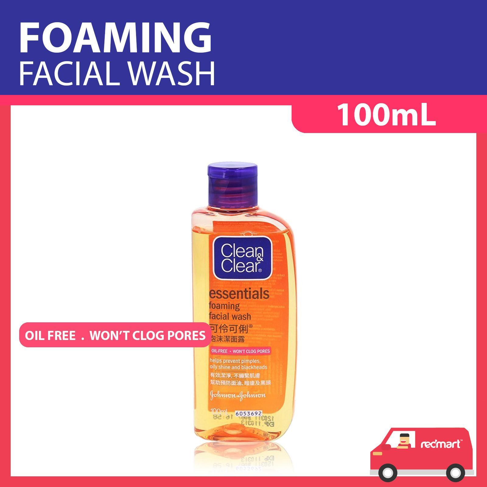 Clean & Clear Essentials Foaming Oil-Free Face Wash