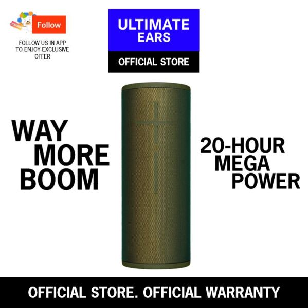 Ultimate Ears MEGABOOM 3 Portable Bluetooth Speaker Singapore