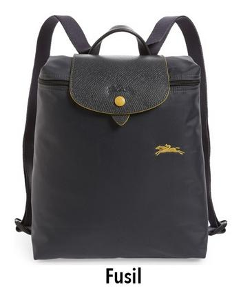 Longchamp Le Pliage Club 1699 Backpack - Fusil d8728c2763c6c