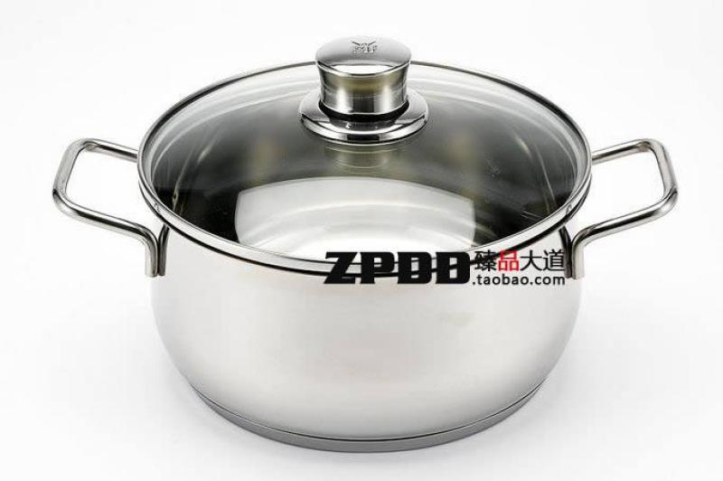 Germany WMF Diadem 20cm3. 5L Stainless Steel Dual Handle Stewing Pot Stew Pot with Lid Singapore