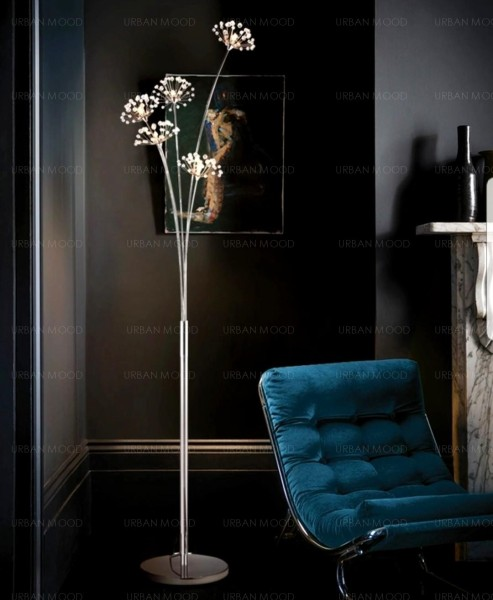 DANDELION LED Crystal Standing Lamp