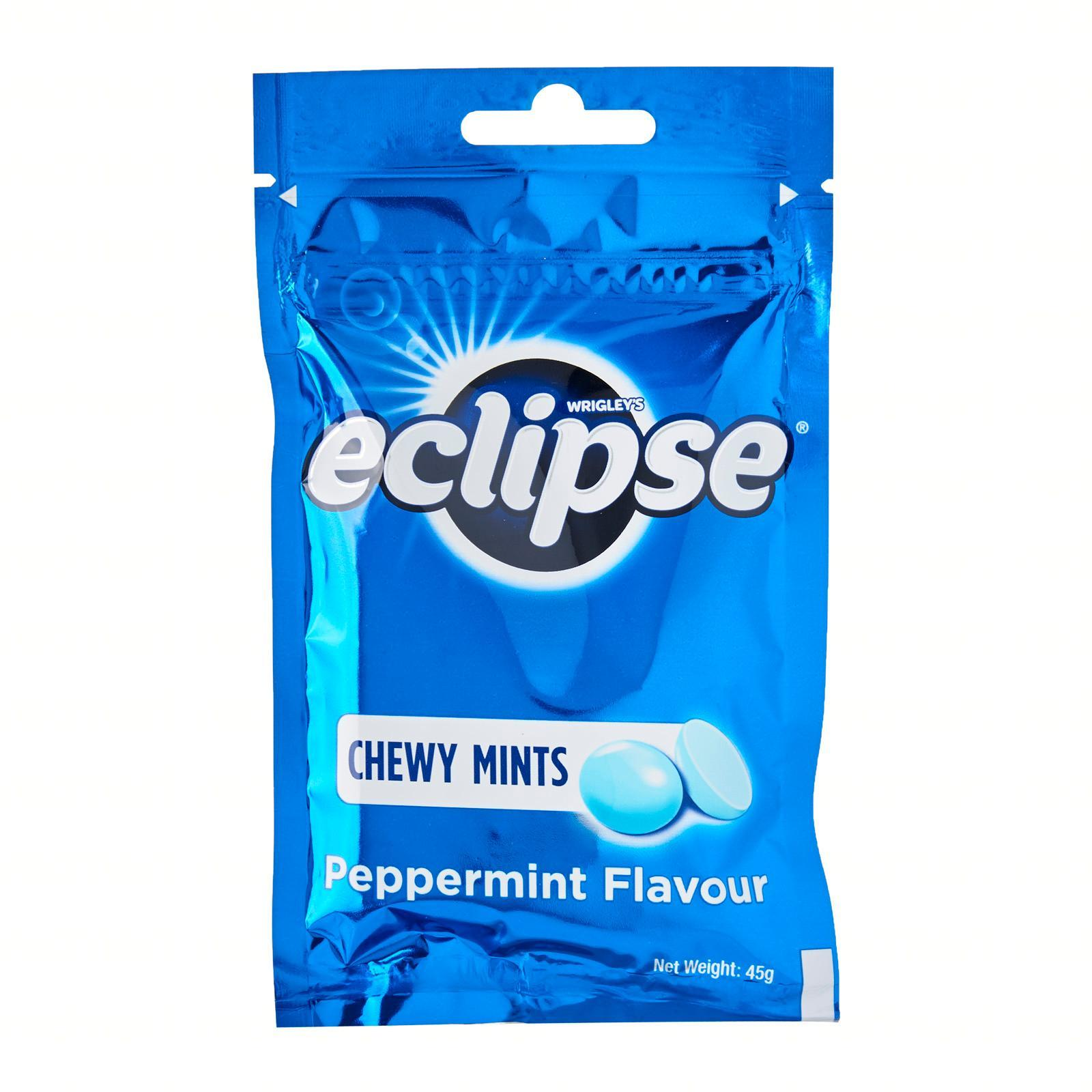 Eclipse Chewy Mints Packet (Peppermint) - By Prestigio Delights