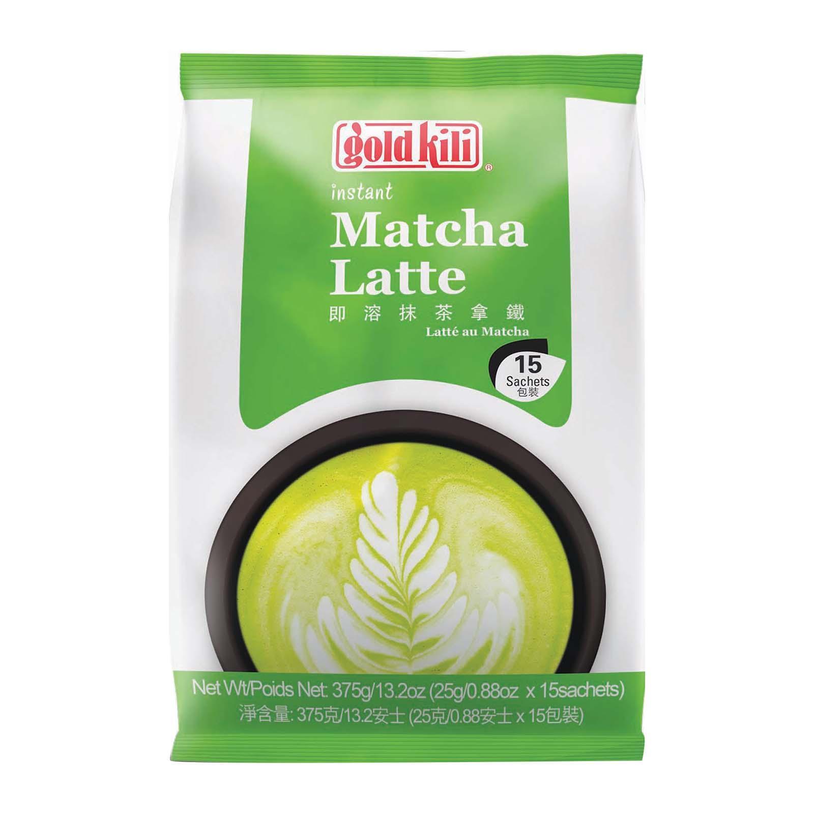 Gold Kili Instant Matcha Latte 15X25G