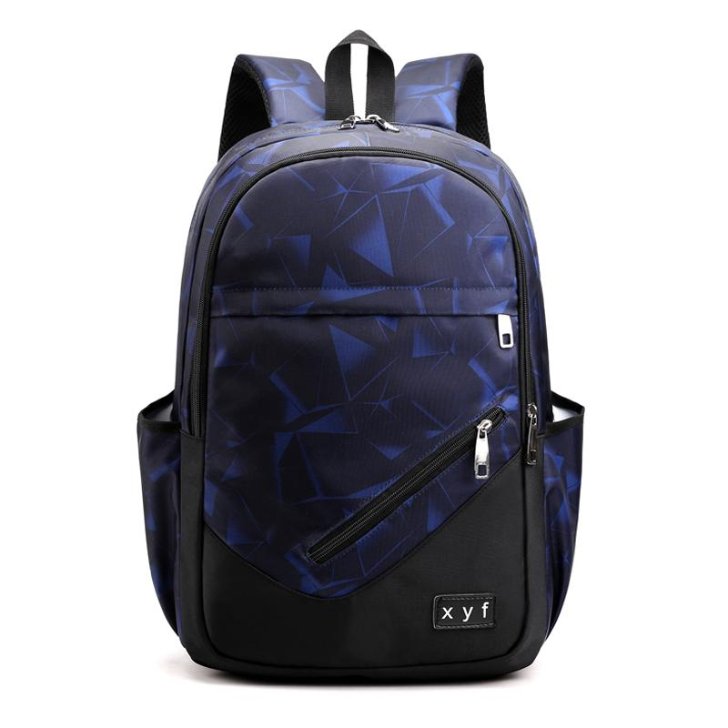 Boys School Bag Young Students 1-3-6 Grade Large Capacity Boy Backpack Early High School Student Backpack College Style
