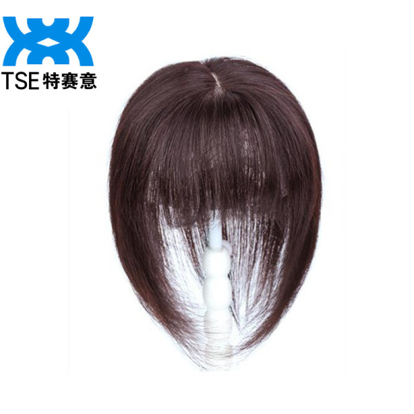 Buy TSE Real Hair Wig Piece Covering White Hair on the head top Increase Hair Volumes (10*12cm Area) 30Cm Length RW05 Singapore