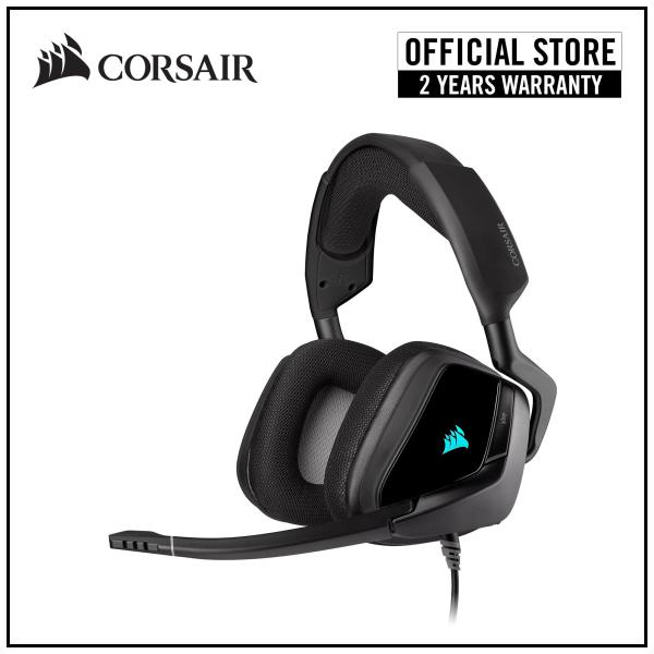 CORSAIR VOID RGB ELITE USB Premium Gaming Headset with 7.1 Surround Sound — Carbon