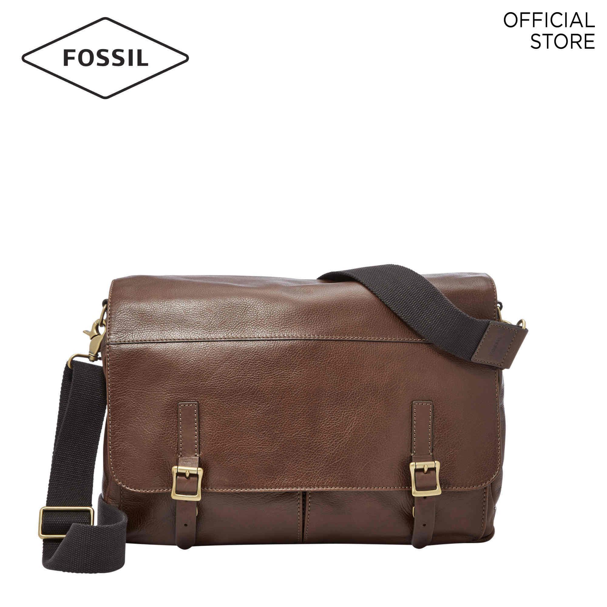 Fossil Defender Brown Messenger Bag MBG9037C200