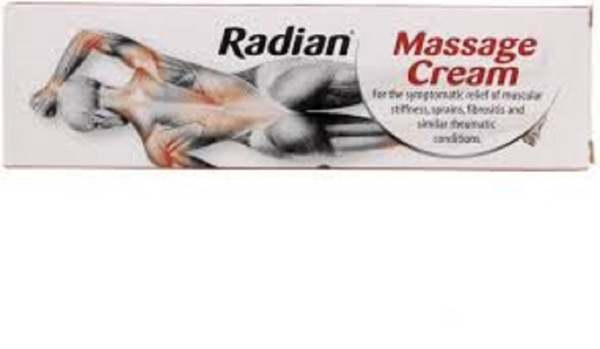 Buy Radian Massage Cream for Instant Relief - 40g Singapore