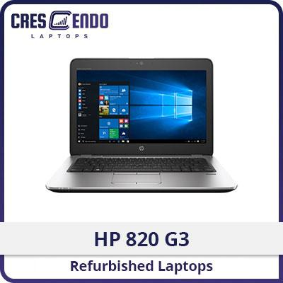 [Refurbished] HP Elitebook 820 G3 / i7 6th Gen / 8GB RAM / 256GB SSD / Win10
