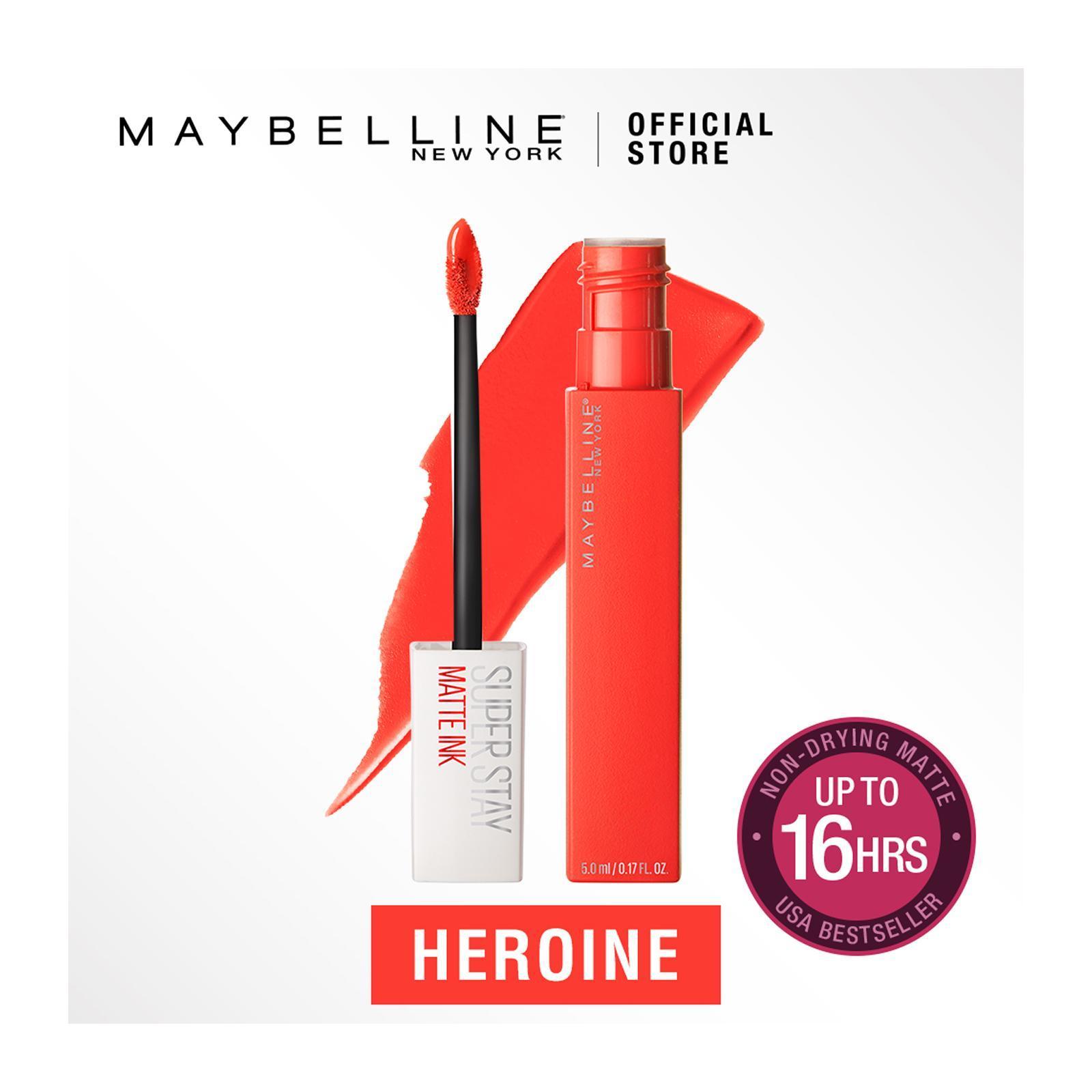 Maybelline Superstay Matte Ink Heroine Liquid Lipstick