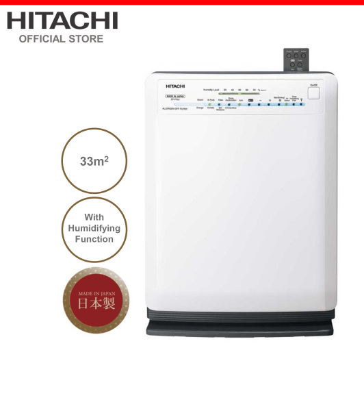 Made In Japan, Hitachi Air Purifier & Humidifier w/ Skin Moisturizing, 33 metre square, EP-P50J Singapore