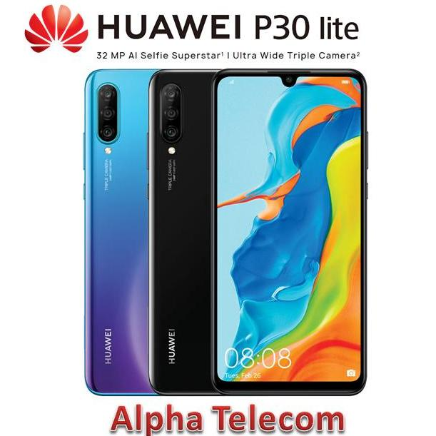 Huawei P30 Lite (6GB/128GB) *** 2 Years Singapore Huawei Warranty ***