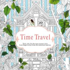 1PCS-Time Travel 2016 New Secret Garden An Inky Treasure Hunt and Coloring Book for Children Adult Relieve Stress Kill Time Graffiti Painting Drawing Book - Intl