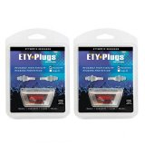 2 Pack Bundle Etymotic Research Er20 Ety Plugs Hearing Protection Earplugs 1 Pair Pack Review
