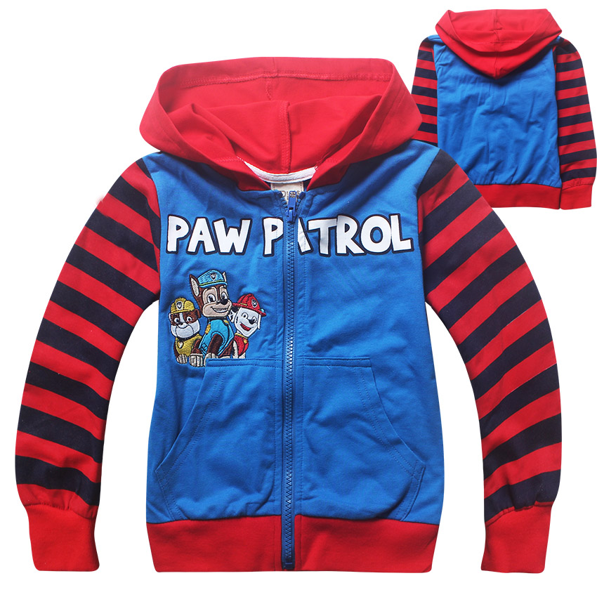 Paw Patrol Pure Cotton 100 130Cm Boys Cardigan Sweaters Color As Pic For Sale