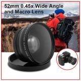 Sale 45X Macro Wide Angle Lens 52Mm For Nikon D5100 D3200 D3100 D3000 D90 D80 Xcsource On Hong Kong Sar China