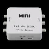 Best Offer 1 Pcs Mini Pal To Ntsc Tv System Converter Pal Ntsc Inter Transformation Adapter Intl