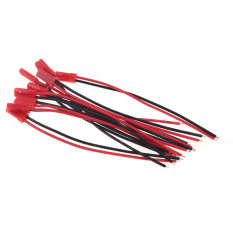 10 Pairs 100mm Male And Female Jst Connector Plug For Rc Lipo Charger Part By Crystalawaking.
