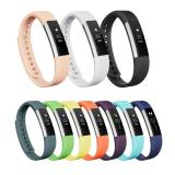 New 10 Pcs Multi Colors Soft Silicone Sport Replacement Strap For Fitbit Alta Bands With Metal Clasp No Tracker Intl