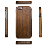100 Walnut Wood Back Cover Phone Case For Apple Iphone 6 6S On China