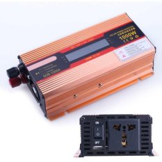 1000W Dc 12V To Ac 220V Modified Pure Sine Wave Power Inverter Household Led Intl On China
