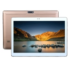 3G Phone Call Tablet Pc 10 1 Inch 2Gb 32Gb Not Support Google Play Android 7 Mtk6592 Octa Core 1 3Ghz Dual Sim Support Gps With Random Color Delivery Leather Case Gold Lower Price