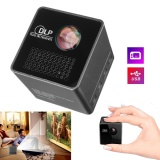 Lowest Price 1080P Hd P1 Led Dlp Mini Projector Pocket Home Theater Multimedia Usb Tf Stable Intl