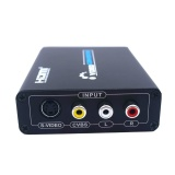 Sales Price 1080P Hd Video Composite Analog Audio Cvbs Av S Video To Hdmi Converter Adapte Intl