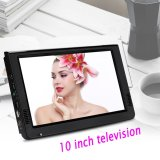 10Inch Digital Analog Television Resolution Portable Tv Intl Cheap