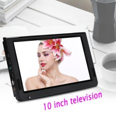 Retail 10Inch Digital Analog Television Resolution Portable Tv Intl