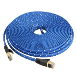Purchase 10M Durable Strong Cat 7 Cat7 Rj45 10Gbps Ethernet Flat Cable Lan Network Cord