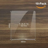 Best Buy 10Pcs Magical Super Powerful Fixate Gel Pads Strong Stick Glue Anywhere Wall Sticker Reuseable Portable Home Fixed Wall Stickers Can Be Used As Car Mobile Phone Bracket Clear Intl