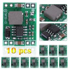 10pcs Mini 3a Dc-Dc Converter Step Down Buck Power Supply Module 24v 12v 9v To 5v - Intl By Crystalawaking.