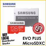 Samsung 128Gb Evo Plus Microsd Card 100 Mb S Sd Adapter Mc128Ga Apc Shopping