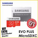 Sale Samsung 32Gb Evo Plus Microsd Card 100 Mb S Sd Adapter Mc32Ga Apc Samsung Wholesaler