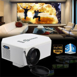 Wholesale 1200Lumens Hd 1080P Home Cinema 3D Hdmi Usb Video Game Led Lcd Mini Projector White Intl
