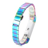 Compare 12Mm Stainless Steel Butterfly Clasp Alternative Bracelet Band For Fitbit Alta Smartband Intl