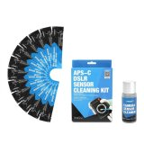 12Pcs Professional Aps Ccd Cmos Sensor Cleaning Swab Cleaner Kit For Dslr Camera Intl China