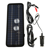 Coupon 12V 5W Portable Solar Panel Battery Charger Export