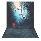 1 5 2M Photography Background Backdrop Digital Printing Hallowmas Halloween Pumpkin Graveyard Bat Pattern For Photo Studio Outdoorfree Intl Shop