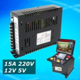 Review 15A 220V 110V Output 12V 5V Switching Power Supply For Jamma Arcade Pinball Game Intl Not Specified On Singapore