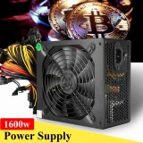Purchase 1600W Mining Power Supply 6 Gpu Modular For Eth Rig Ethereum Coin Miner 90 Plus Intl