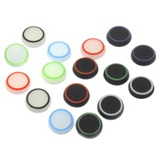 16pcs Silicone Analog Controller Thumb Stick Grips Cap Cover For Ps4 Ps3 Xbox One Game Accessories Replacement Parts - Intl.