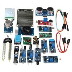 Sale 16Pcs Set Module For Raspberry Pi 3 2 Zero W Sensor Kit Ultrasonic Photoresisto Intl Not Specified Online
