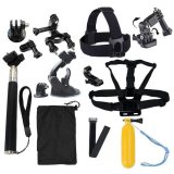 Low Price 18 In 1 Sports Camera Accessories Kit For Gopro Hero 4 3 3 Sj4000 Sj5000 Sjcam Xiaoyi