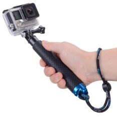 List Price 18 Hand Grip Adjustable Extension Selfie Stick Handheld Monopod For Geekpro Go Pro Hd Hero 5 4 3 3 2 1 Sjcam Sj4000 Sj5000 Xiao Yi With Wrist Strap And Scr*w Intl Oem