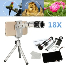 Who Sells The Cheapest 18X Zoom Telescope Camera Telephoto Lens Kit Tripod For Universal Mobile Phone Intl Online
